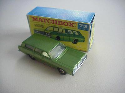 Matchbox RW Nr 73 MERCURY COMMUTER + krabička