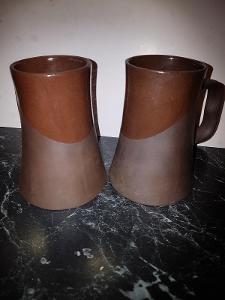Keramické džbánečky sada výška 14 cm