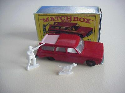 Matchbox RW Nr 42 STUDEBAKER STATION WAGON + krabička