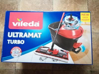 Nový rotační mop Vileda Ultramat turbo