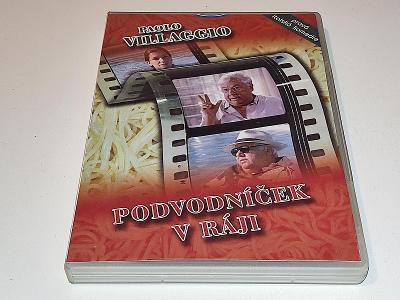 PODVODNÍČEK V RÁJI : PAOLO VILLAGGIO / DVD NEŠKRÁBLÉ