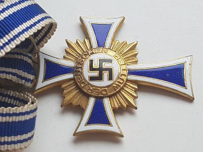 Kříž matek zlato, Mutterkreuz gold TOP