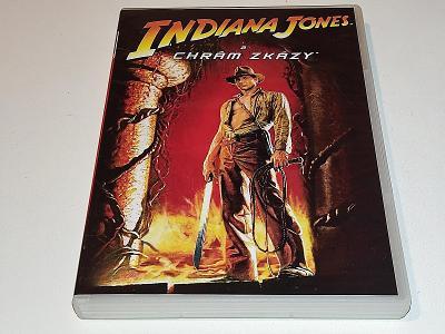 INDIANA JONES A CHRÁM ZKÁZY / DVD NEŠKRÁBLÉ