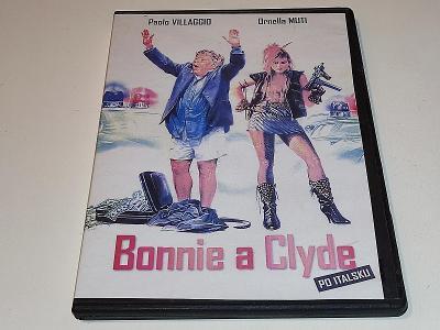 BONNIE A CLYDE PO ITALSKU : PAOLO VILLAGGIO  / DVD NEŠKRÁBLÉ