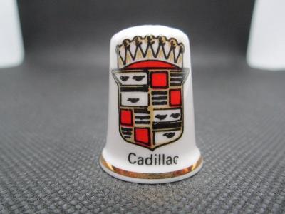 Sběratelský náprstek Reklama - Cadillac, značka amerických automobilů