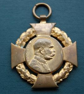 František Josef I. - Jubilejní kříž 1848 - 1908