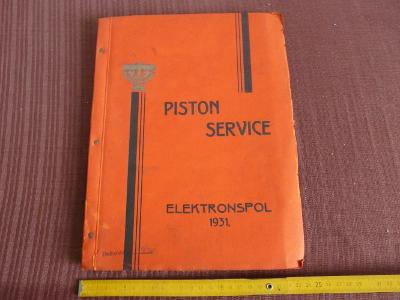 KATALOG PISTON SERVICE ELEKTRONSPOL 1931
