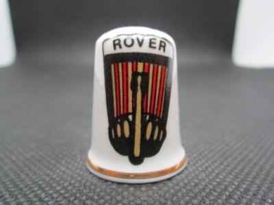Sběratelský náprstek Reklama - Rover, značka britských motocyklů