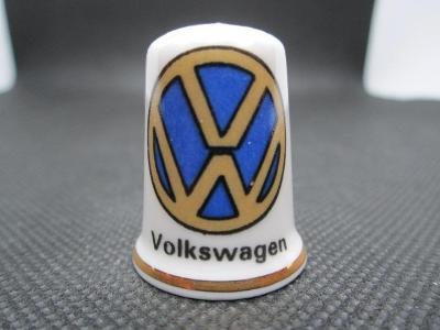Sběratelský náprstek Reklama - Volkswagen, značka německých automobilů
