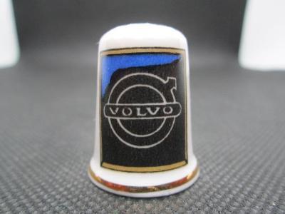 Sběratelský náprstek Reklama - Volvo, značka švédských automobilů