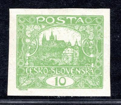 Hradčany/6 N, zelená 10 h, zkoušeno Mrňák, Pofis /19.61057