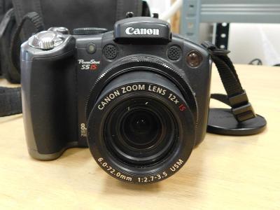 Canon PowerShot S5 IS - zajímavý digitální kompaktní fotoaparát