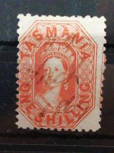 Anglické/Britské kolonie-Tasmanie, raženo (A283)
