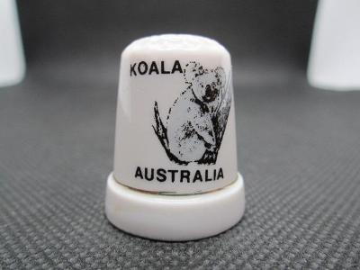 Sběratelský náprstek Austrálie - fauna - Koala medvídkovitý