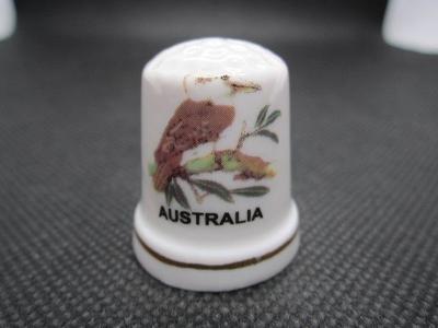 Sběratelský náprstek Austrálie - fauna - Ledňák obrovský