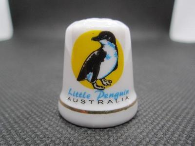 Sběratelský náprstek Austrálie - fauna - Malý tučňák (Tučňák nejmenší)