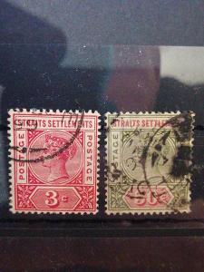 Anglické/Britské kolonie-Malaysie, raženo (A291)