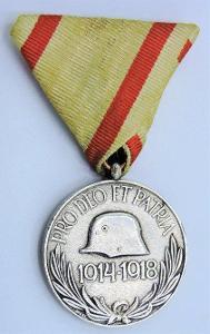 Maďarská pamětní medaile na světovou válku 1914-18