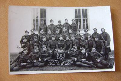 Krupina - kasáreň a vojaci 1936-Foto Mareš