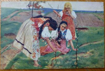 J.Douba - Obrazy z Chodska - cca 1910