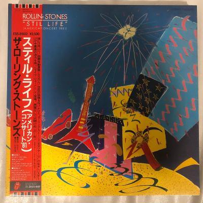 The Rolling Stones – Still Life - LP vinyl Japan - aukce od 1,- Kč