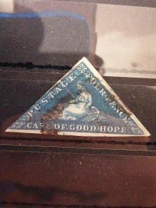Anglické/Britské kolonie-Cape of good hope, raženo (A299)