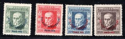 Masaryk 1923/183 - 6, Všesokolský slet, kompletní svěží řada,/19.66301