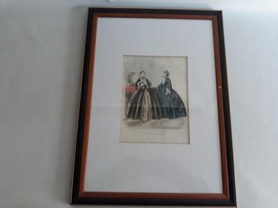 Starý obraz móda Paříž