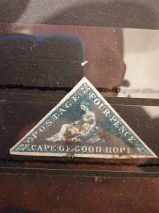 Anglické/Britské kolonie-Cape of good hope, raženo (A303)