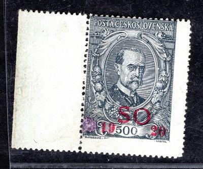 So 1920/SO 24, TGM, krajová, ohyb, světlé místo/19.59764