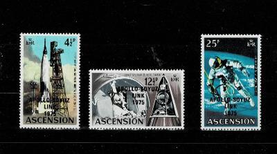 Ascension 1975 Mi 189/91 *- Nr. 118