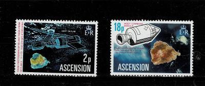 Ascension 1974 Mi 183/4 *- Nr. 118 - kompletní serie