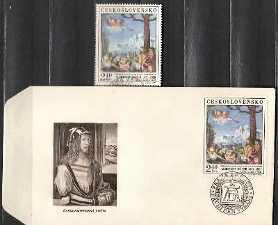 V9221   - FDC obálka prvního dne vydání + známky navíc
