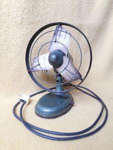 historický ventilátor Tatrasmalt, typ 525