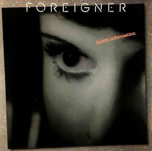 FOREIGNER - Inside Information - CD 1987