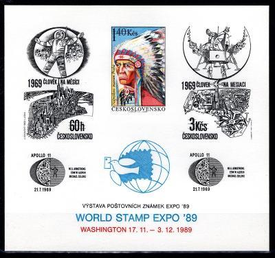ČSSR II/PT 22, Indián, výstava poštovních známek Washington 8/19.66267