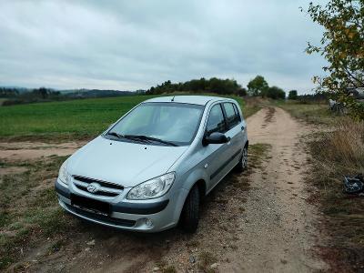Hyundai Getz se zimním pneu