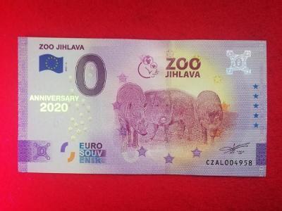 CZ023A ● Euro Souvenir ● ZOO JIHLAVA [2021] ANNIVERSARY
