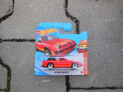 ´82 Dodge Rampage - Hot Wheels