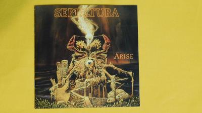 SEPULTURA - Arise / REMASTERS – 1991- (Death/Thrash)