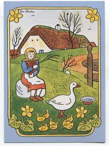 Josef LADA - velikonoce, husopaska, ALBI 37768