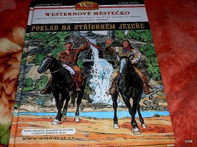 VLASTIMIL PEŠKA--KOMIKS-POKLAD NA STŘÍBRNÉM JEZEŘE--2003
