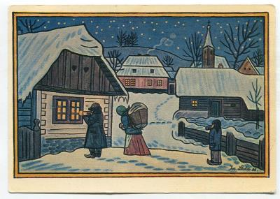 Josef LADA - Vánoce, Nový rok - ODEON 533-8