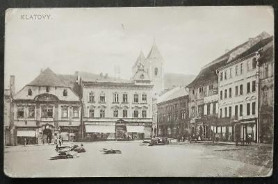 Klatovy 1908 pěkný stav
