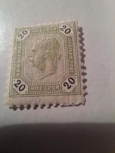 ANK 1891 Císař č 63 ** hledané od korunky!!!!!