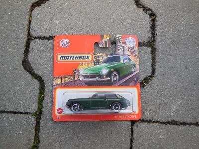 1971 MGB GT Coupe - Matchbox