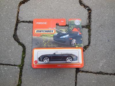 Porsche 911 Carrera Cabriolet  - Matchbox