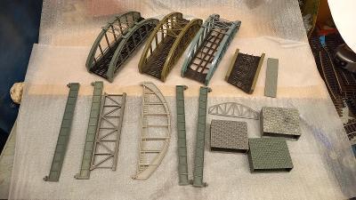 Mosty příslušenství ke kolejišti TT