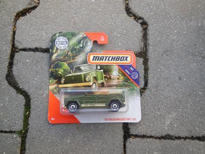 ´74 Volkswagen Type 181  - Matchbox