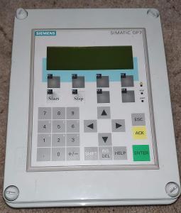 Aukce023 - Simatic OP7 - ovládací panel funkční, použitý
